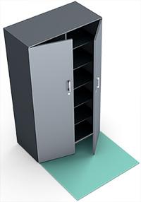 Büroplanung Schrank