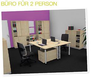 Büroplanung 2re-Arbeitsplatz