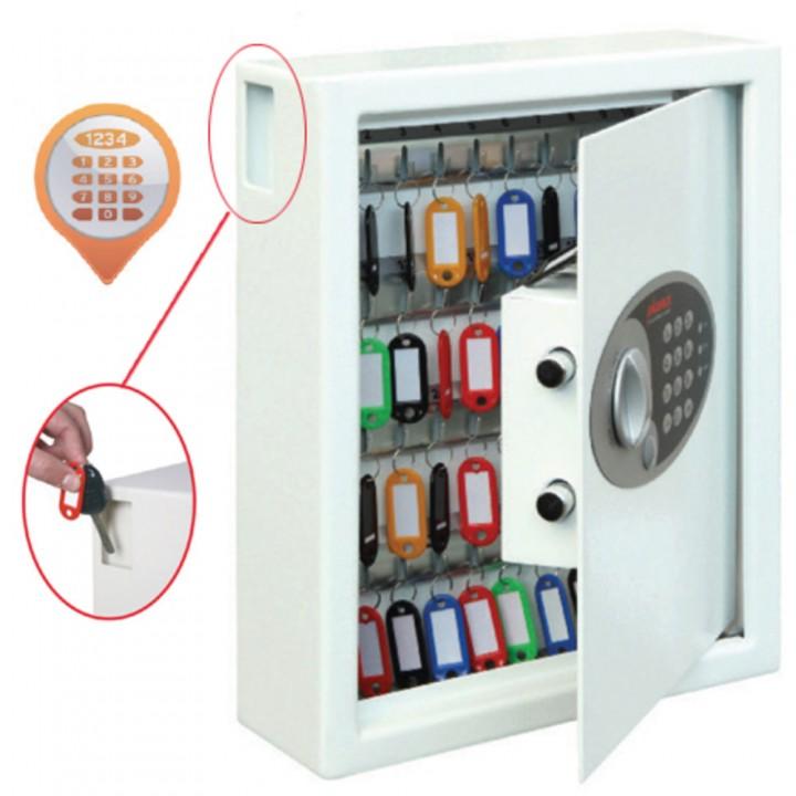 Schlüsselschr.Cyg.KS0032E Elec weiss 360x300x100