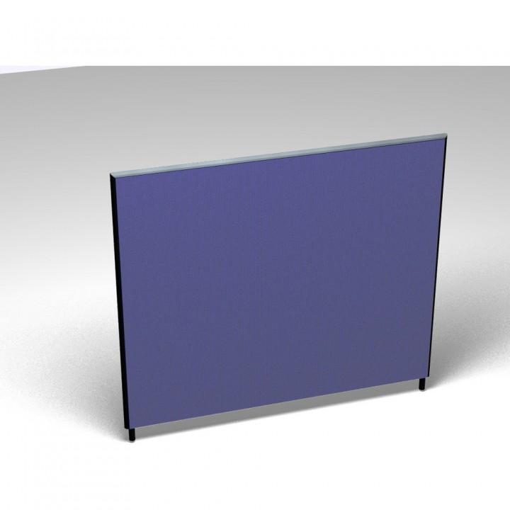 Vollwand Acoustic, Stoffgruppe F, Höhe 140, 1.600x35x1.400mm, blau