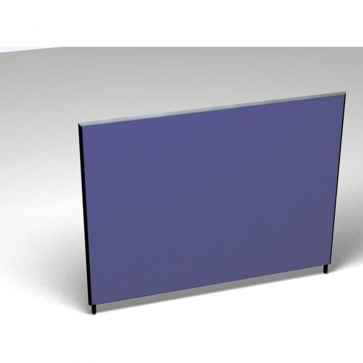Vollwand Basic, Stoffgruppe F, Höhe 140, 1.800x35x1.400mm, blau