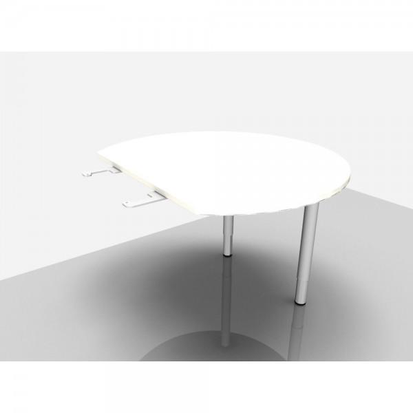 Besprechungsanbau Rialto Pro Komfort, Ø 1.100 mm Rund, weiß