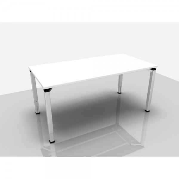 Schreibtisch Trend Pro Komfort, 1.600x800x620-850mm, grau