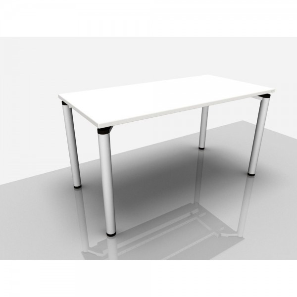 Bespr.tisch Pro, 1.400 x 700 x 720 mm, grau