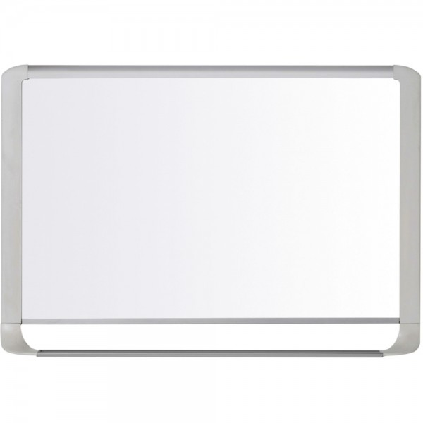 Mastervision Whiteboard hellgrau 1200 x 900 emaille