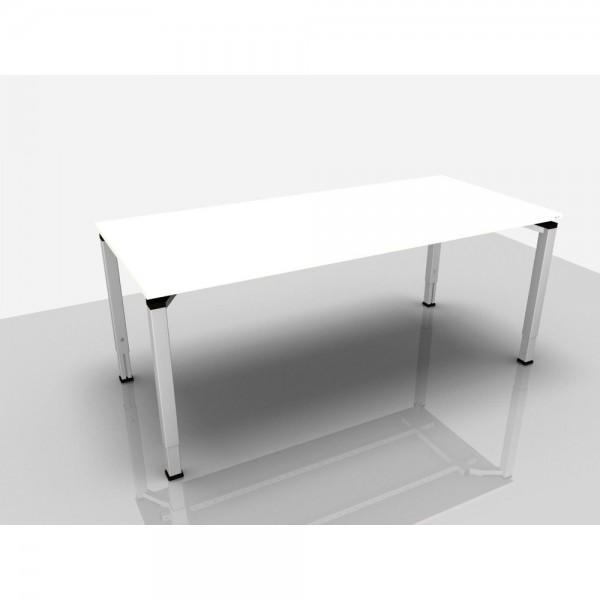 Schreibtisch Trend Pro Komfort, 1.800x800x620-850mm, weiß