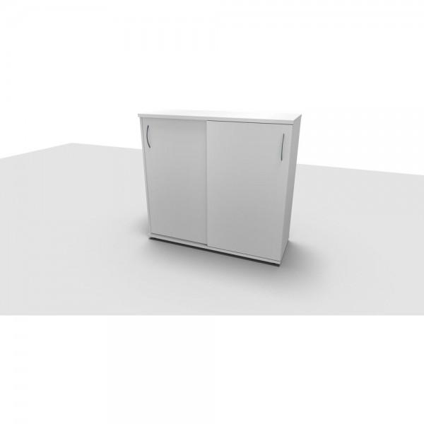 Schiebetürenschrank All in One, 3OH, 1.200x442x1.130mm, diamantweiß