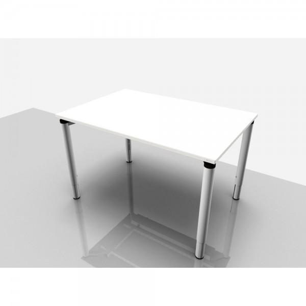 Schreibtisch Rechteckform Rialto Pro Komf., 1.200x800x620-850mm, grau