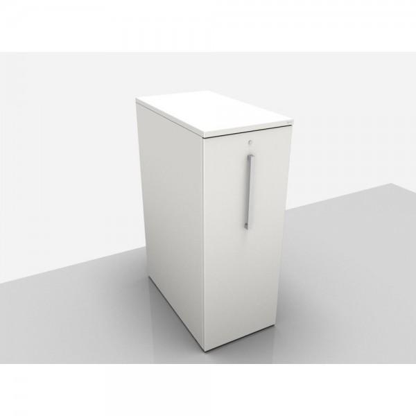 High-Cont. 3OH re. anstellbar li.grau 45x80x116cm