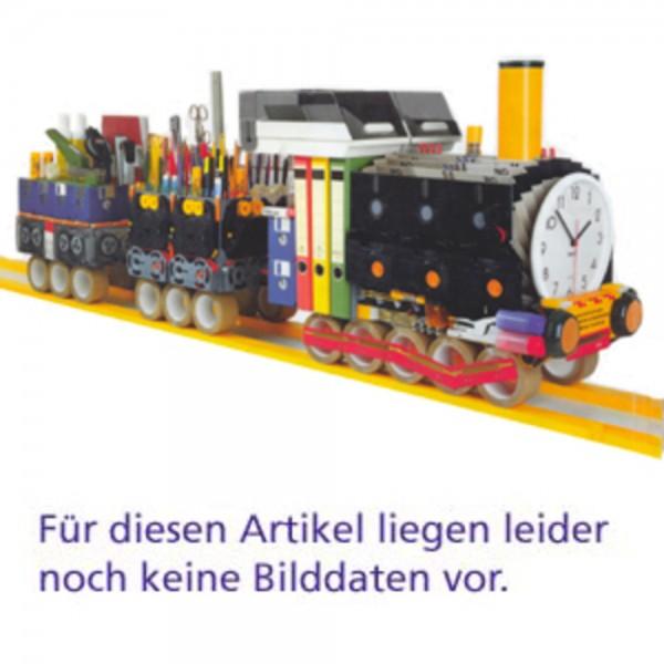 Querroll.schr. 2OH Aufsatz M Ahorn 120x45x77 m.Auszug