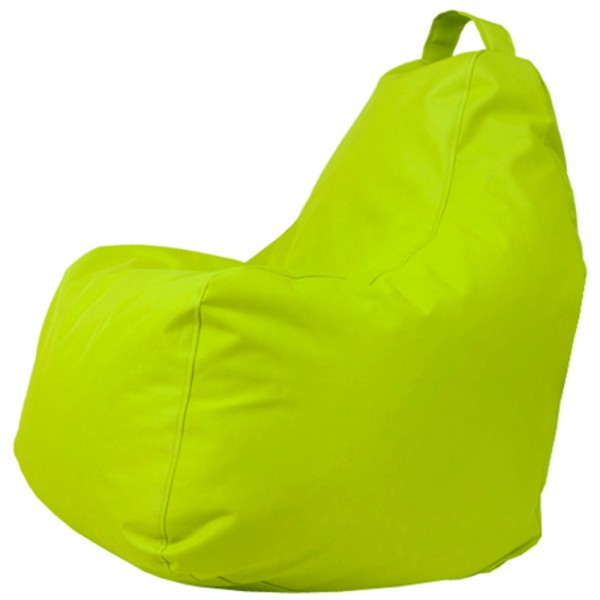B!chair Sitzsack mit Griff kiwi 80x80x80