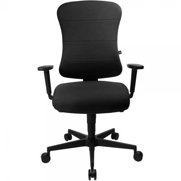 Bürodrehstuhl Ergo Future ST, mit Armlehnen, schwarz