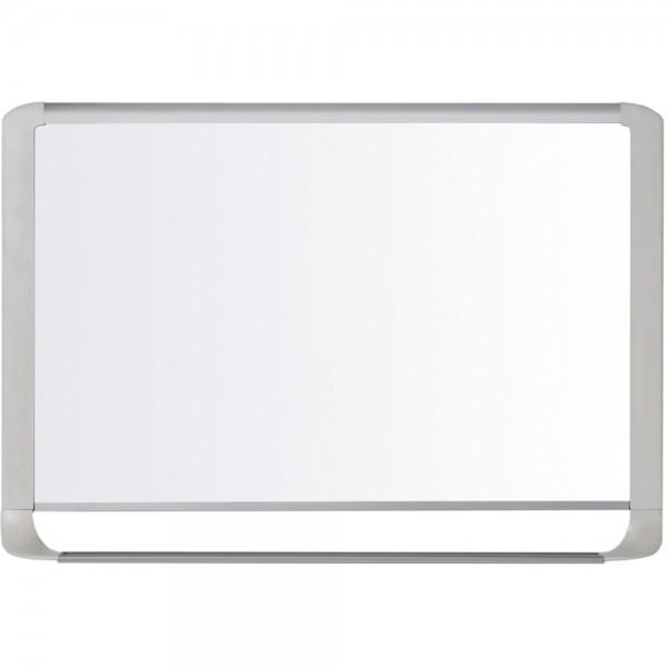 Schreibtafel Mastervision, magnetisch, 90x60cm, Alurahmen, hellgrau