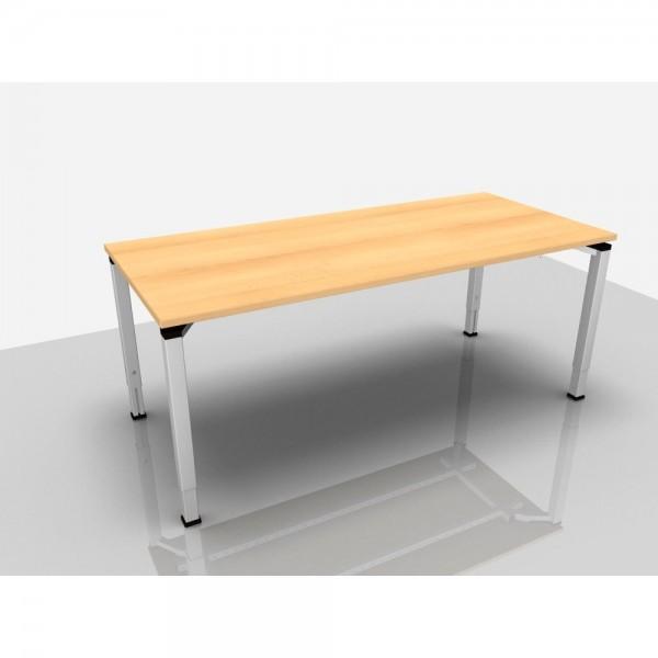 Schreibtisch Trend Pro Komfort, 1.800x800x620-850mm, buche
