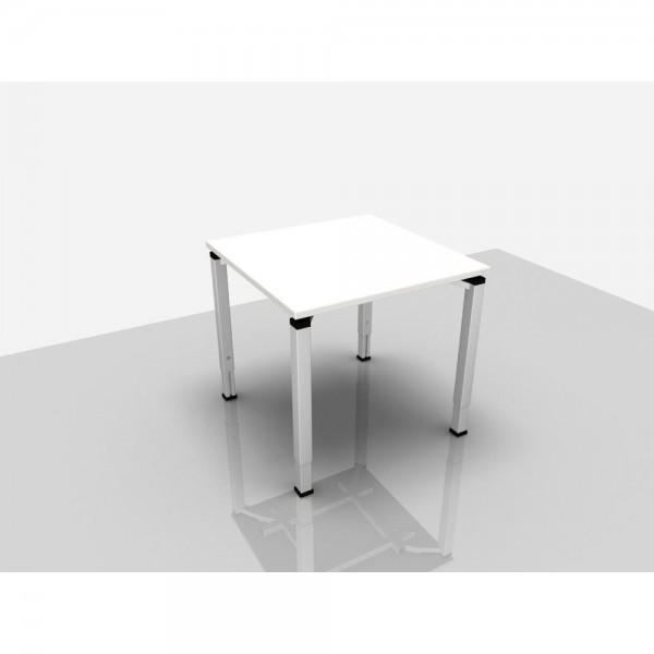 Schreibtisch Trend Pro Komfort, 800x800x620-850mm, grau