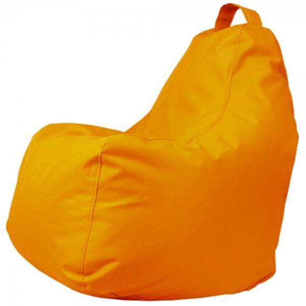 B!chair Sitzsack mit Griff orange 80x80x80