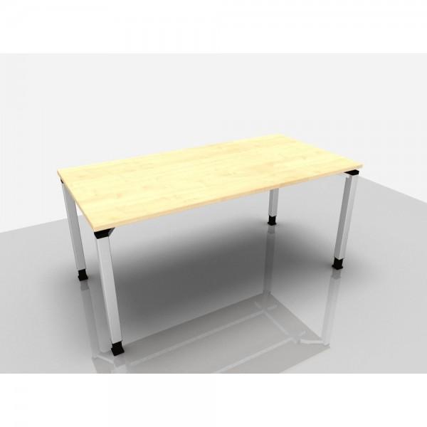 Schreibtisch Trend Pro, 1.600 x 800 x 680 - 820 mm, ahorn