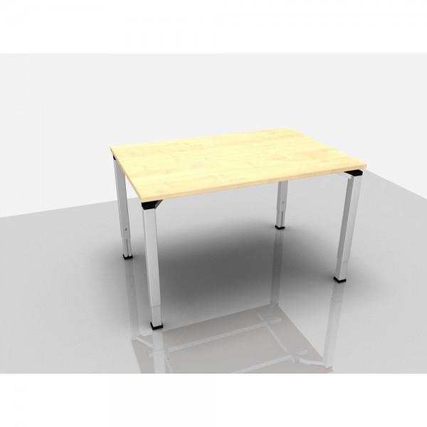 Schreibtisch Trend Pro Komfort, 1.200x800x620-850mm, ahorn