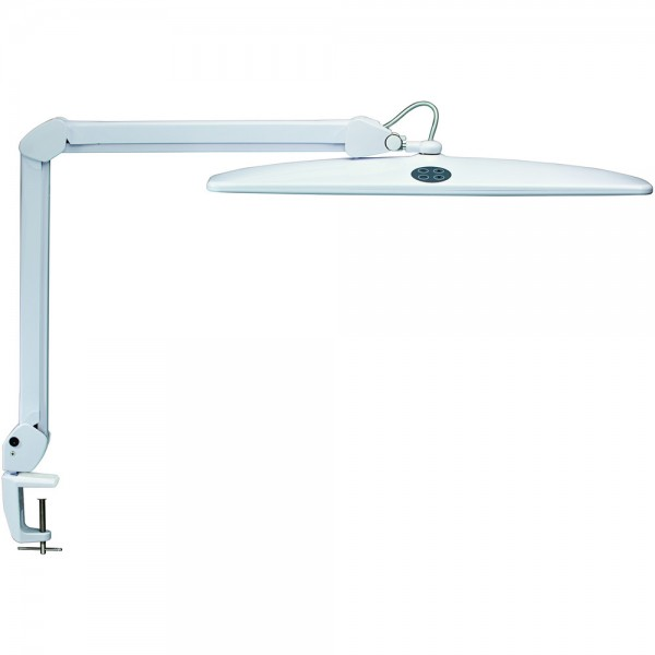 LED-Tischleuchte work dimmbar weiß 26x74,5x12,5 21kW1000