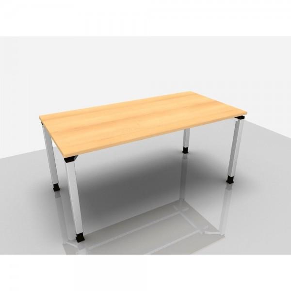 Schreibtisch Trend Pro, 1.600 x 800 x 680 - 820 mm, buche