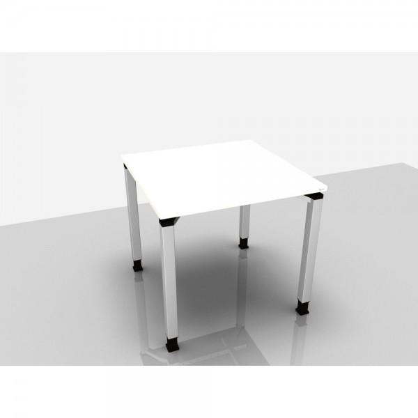 Schreibtisch Trend Pro, 800x800x680-820mm, weiß