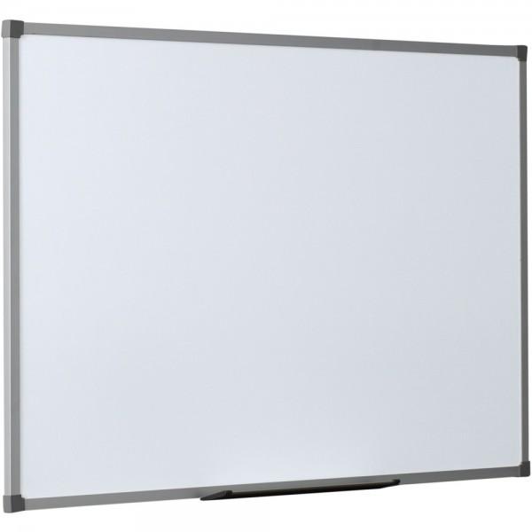Schreibtafel SCALA, emailliert, magnetisch, 120x90cm, weiß, Alurahmen