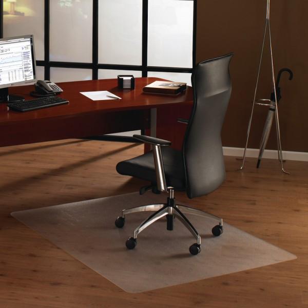 Bodenschutzmatte PC Hartbode transp. 119x134x1.9 rechteck
