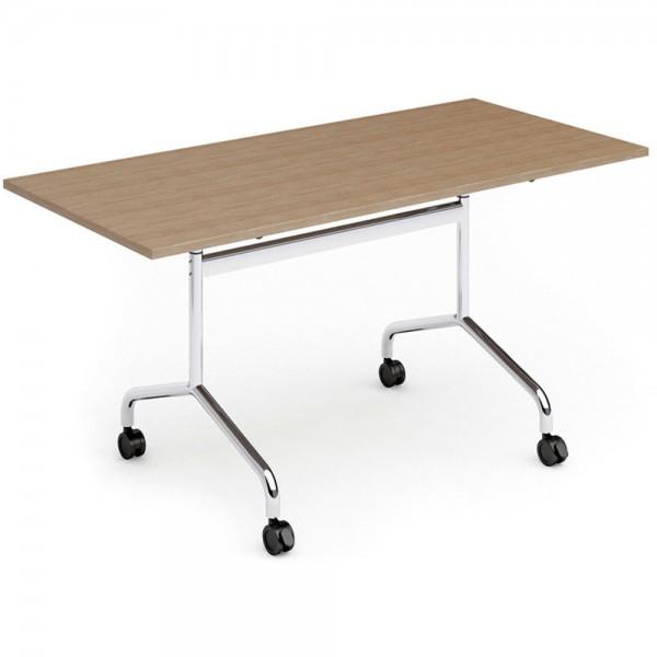 Konferenztisch FLIB, M02, rechteckig, 1.600x800x750mm, buche
