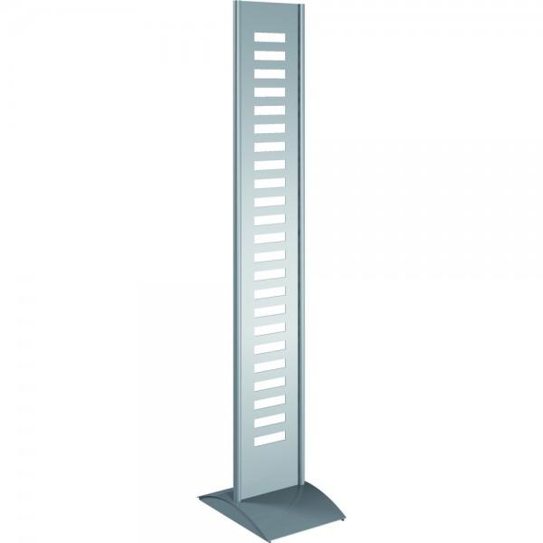 Prospektständer tec-art silber 31x42x167cm