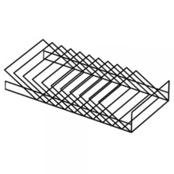Formulareinsatz Rialto / Trend Einsatz für Schubladen, schwarz