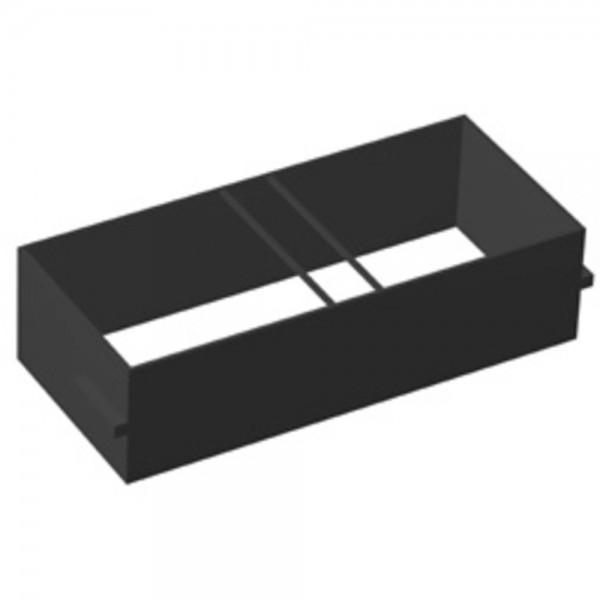 Hängeregistratur f. B 80 cm schwarz  10 AT