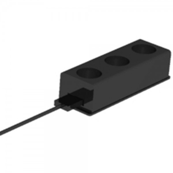 Elektrifizierungsset 3mKabel M schwarz 3 m 10 AT