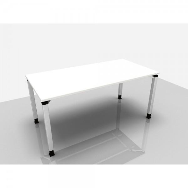Schreibtisch Trend Pro, 1.600 x 800 x 680 - 820 mm, grau