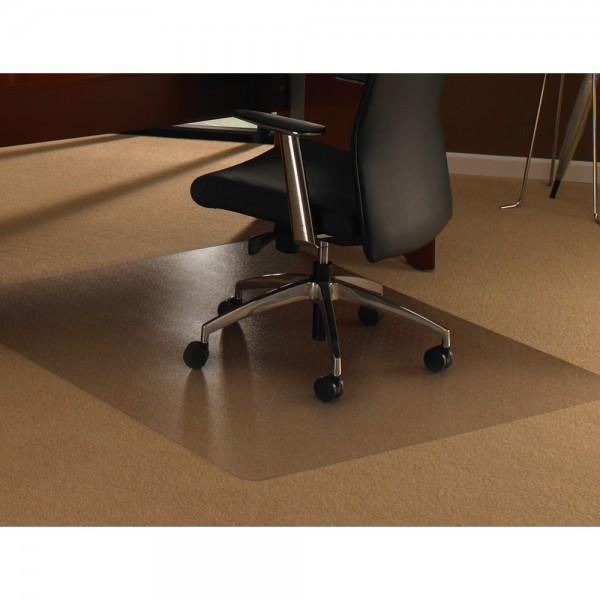 Bodenschutzmatte ultimat, für Teppichböden, PC, rechteckig, 134x120cm