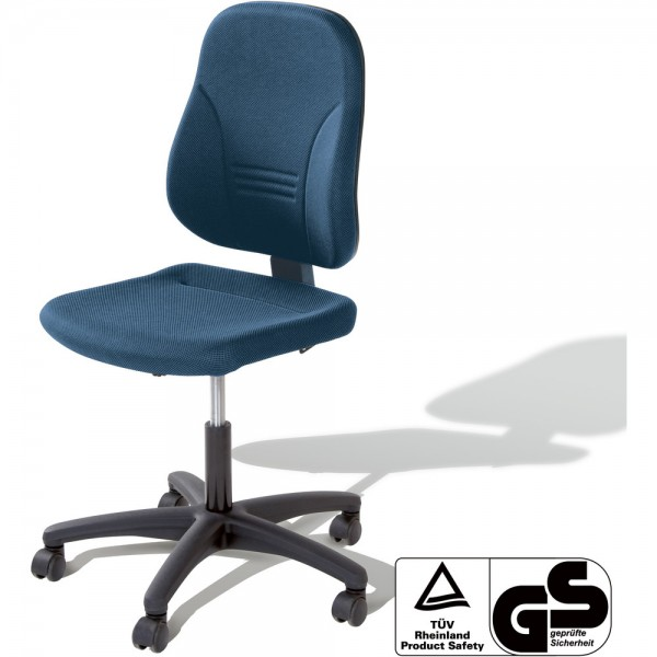 Bürostuhl Younico 2, o.Arml., Tec, blau