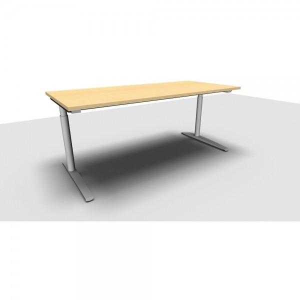Schreibtisch All in One M ahorn 180x80