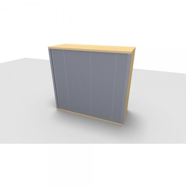 Aufsatzrollladenschrank All in One, 3OH, 1.200x442x1.088mm, ahorn