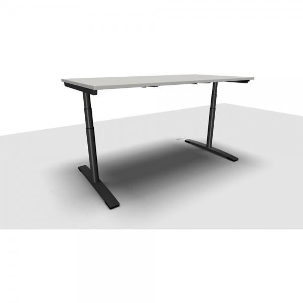 Schreibtisch Jump Move Doppelhub, 1.800x800x650-1.300mm, lichtgrau