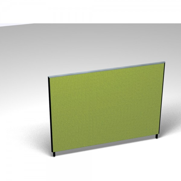 Vollwand Acoustic, Stoffgruppe A, Höhe 120, 1.600x35x1.200mm, spring
