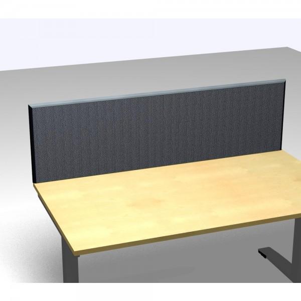 Tischaufsatzpaneel Basic, Stoffgruppe F, 2.000x35x480mm, dunkelgrau