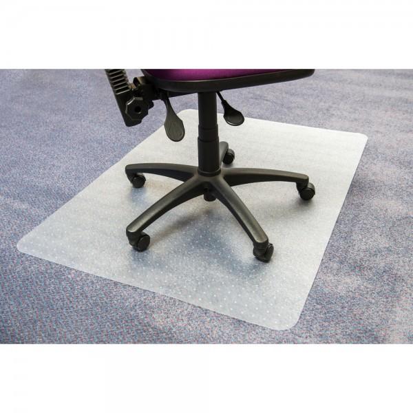 Bodenschutzmatte advantagemat®, Teppich, Vinyl, 90x120cm, farblos, tr