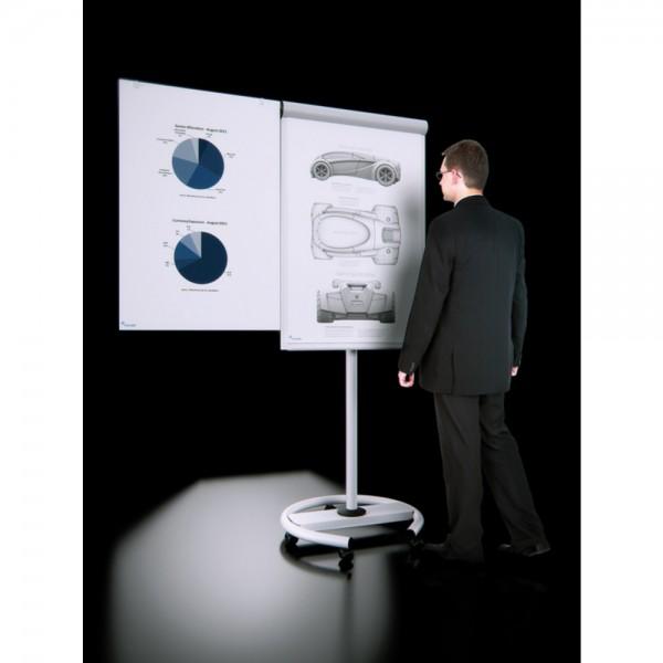 Flipchart Business Mobil weiß 104x68cm
