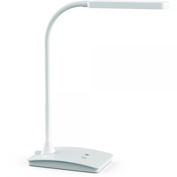 LED-Tischleuchte pearly dimmbar weiß 22x26,5x13,5 6kWh1000