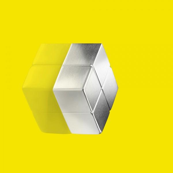 Magnet SuperDym C10 silber 20x10x20mm