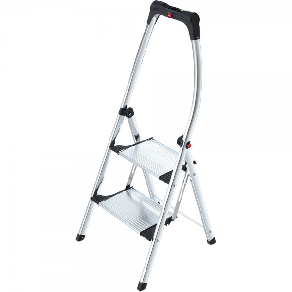 Klapptritt, LivingStep Comfort Plus, Alu, 2 Stufen, Tragf.: 150 kg