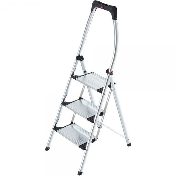 Klapptritt, LivingStep Comfort Plus, Alu, 3 Stufen, Tragf.: 150 kg