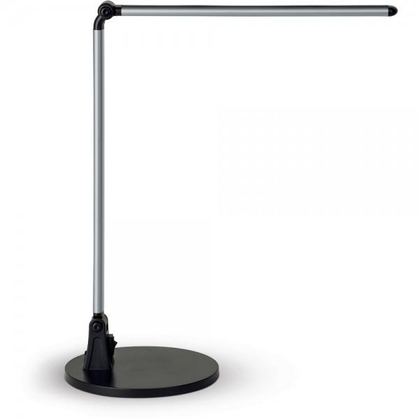 Tischleuchte, MAULstream, mit Tischfuß, 60 LEDs, silber