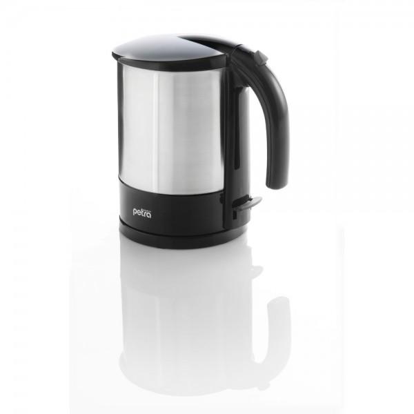 Wasserkocher, WK 288, Edelstahl/Kunststoff, 1,7 l, schwarz/edelstahl
