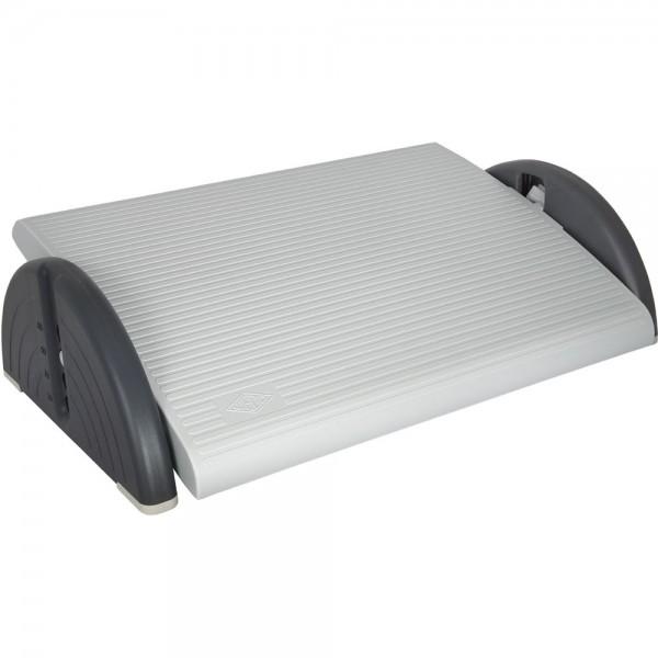 Fußstütze RELAX-PLUS, Trittfläche: 45x35cm, 3 - 16,5 cm, lichtgrau
