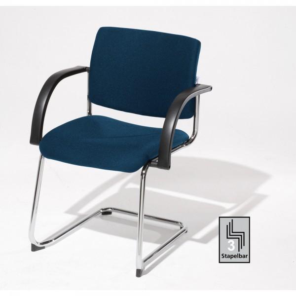 Stuhl Sim-O Visitor blau
